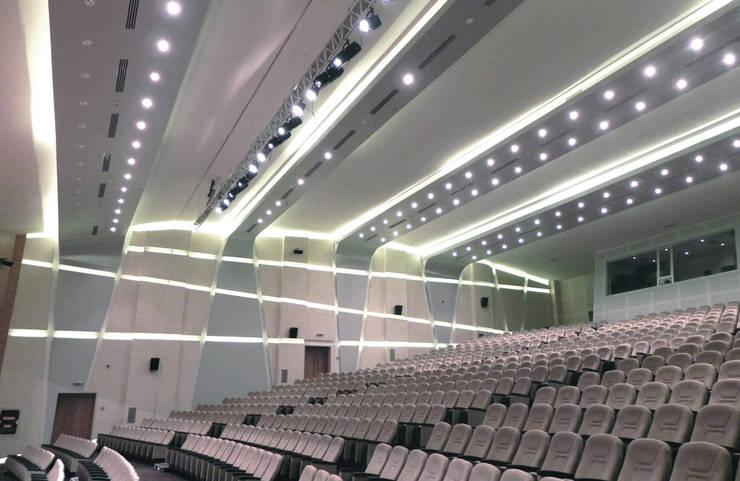 Ayaz Ergin İç Mimarlık  – DUHOK UNIVERSITY – Conference Hall:  tarz Kongre Merkezleri
