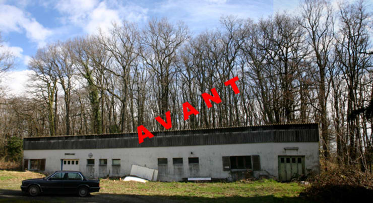 Dépendance Versoix:  de style  par [GAA] GUENIN Atelier d'Architectures SA