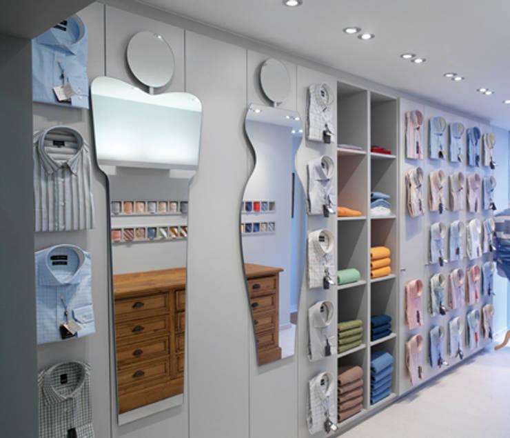 ADAM & EVE:  Kantoren & winkels door Deknudt Mirrors