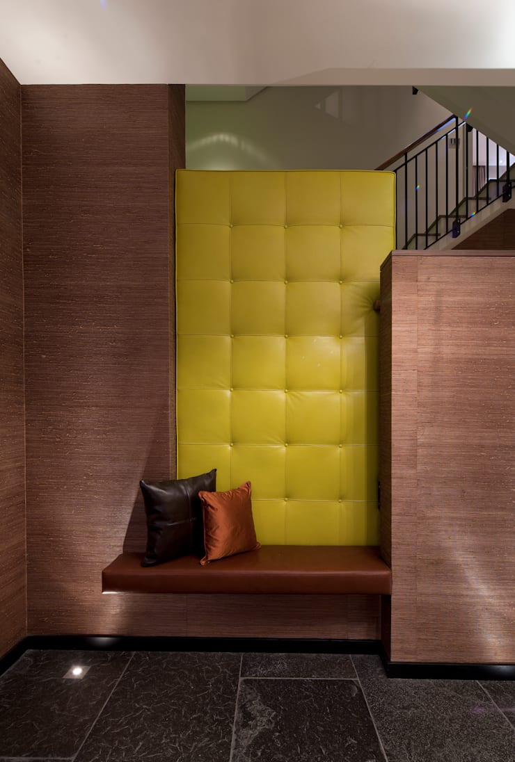 Holford Road 2:  Corridor, hallway & stairs by KSR Architects