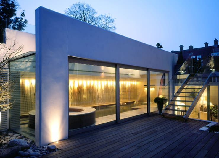 Holford Road 1:  Pool by KSR Architects