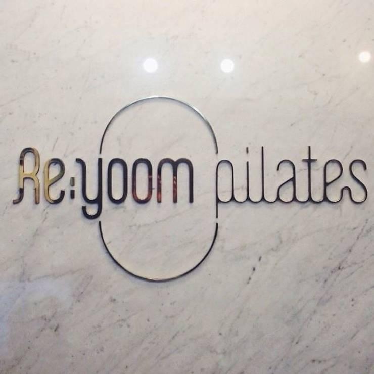 Re;yoom pilates: studio azellier의  상업 공간