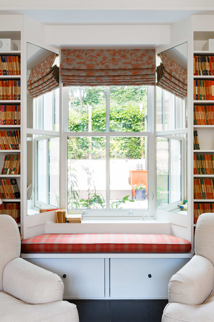 Green Retrofit, Lambourn Road:  Study/office by Granit Architects