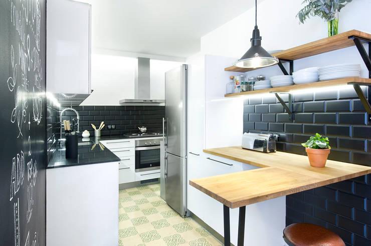 Cocinas de estilo industrial por Egue y Seta