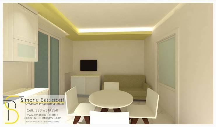 Ristrutturazione Appartamento – Caselle di Selvazzano (PD): Cucina in stile  di Simone Battistotti - SB design,