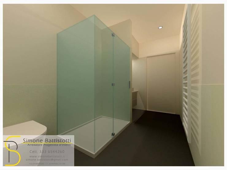Ristrutturazione Appartamento – Caselle di Selvazzano (PD): Bagno in stile  di Simone Battistotti - SB design,