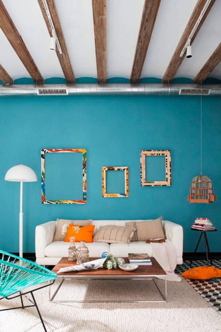 Living room by Egue y Seta, Mediterranean