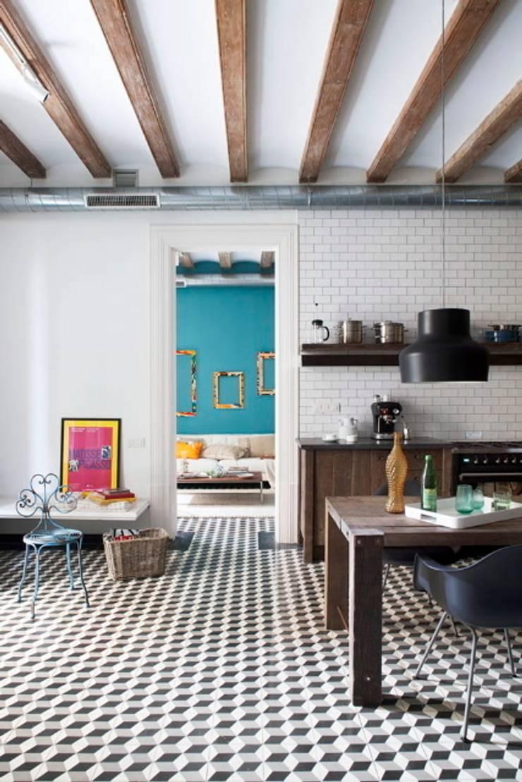 Kitchen by Egue y Seta, Mediterranean