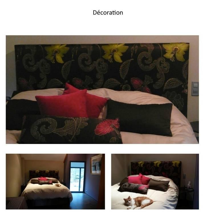 vert: Chambre de style  par Faites le mur