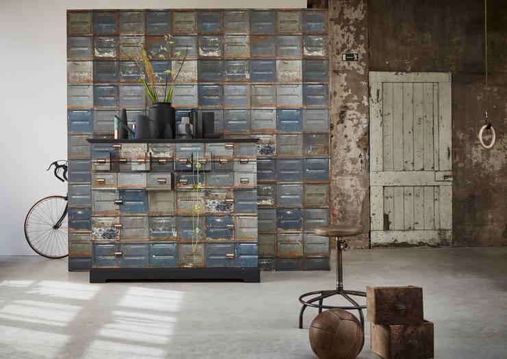 Container wallpaper:  Muren door Studio Ditte, Modern