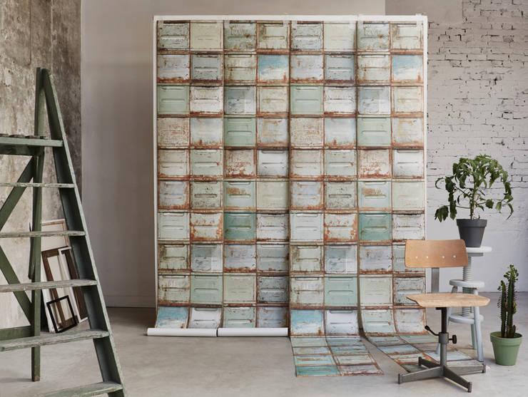 Container wallpaper:  Muren door Studio Ditte