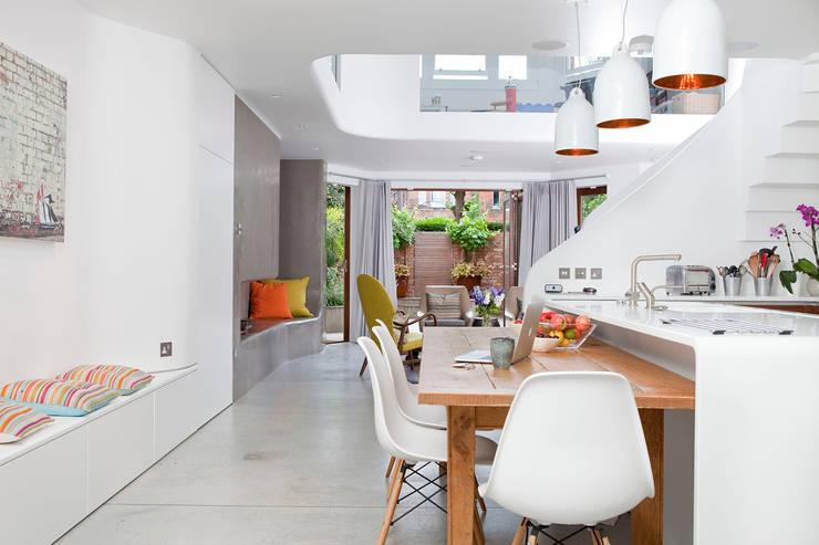 West Hampstead:  Kitchen by Scenario Architecture