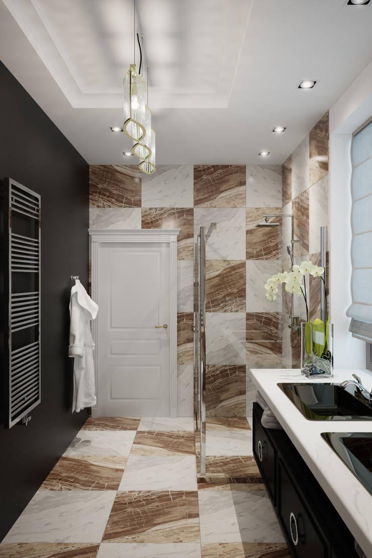 Лион: Ванные комнаты в . Автор – Level,