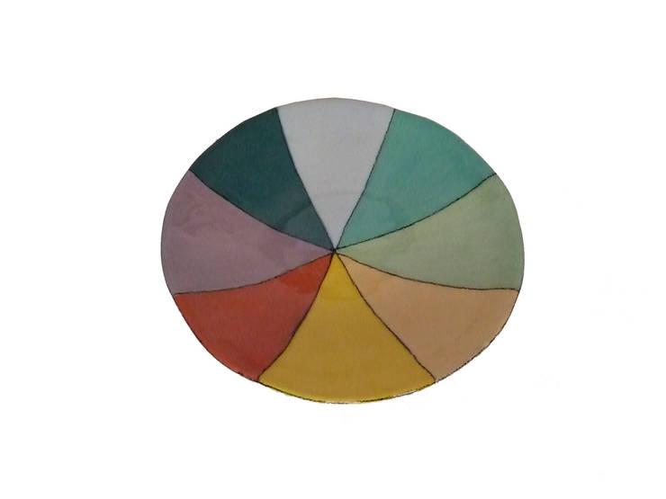 """assiette """"she's like a rainbow"""": Cuisine de style  par sabine orlandini design céramique"""