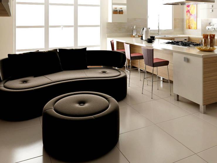 levent tekin iç mimarlık – RÖNESANS KONUTLARI: modern tarz Mutfak