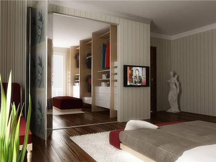 levent tekin iç mimarlık – RÖNESANS KONUTLARI:  tarz Giyinme Odası