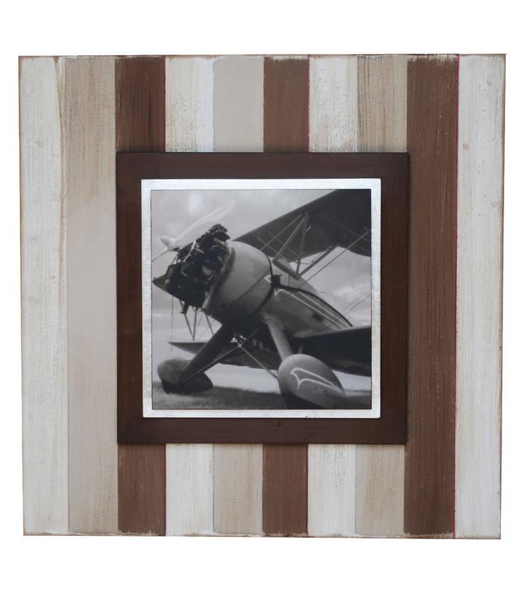 Volador III: Paredes y suelos de estilo  de LA CASA DE LOS CUADROS