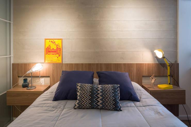 moderne Slaapkamer door Semerene - Arquitetura Interior