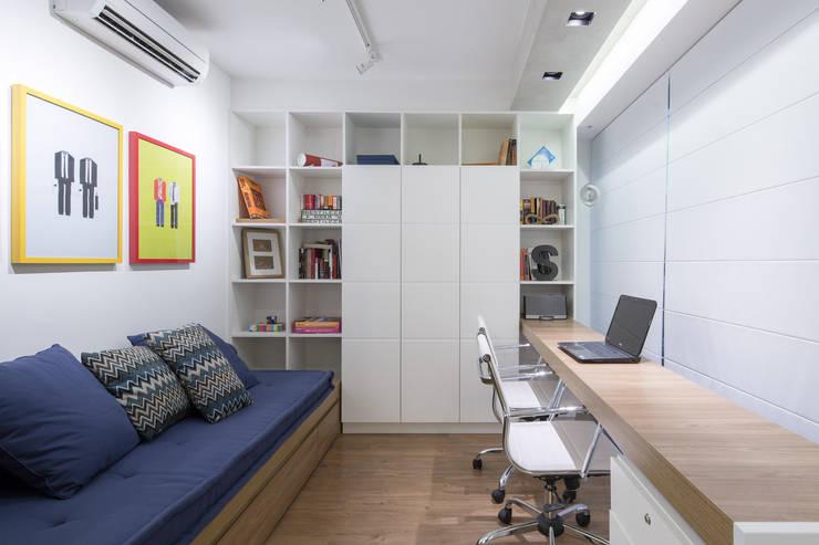 Рабочие кабинеты в . Автор – Semerene - Arquitetura Interior