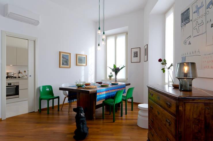 PLB P016: Sala da pranzo in stile in stile Scandinavo di modoo