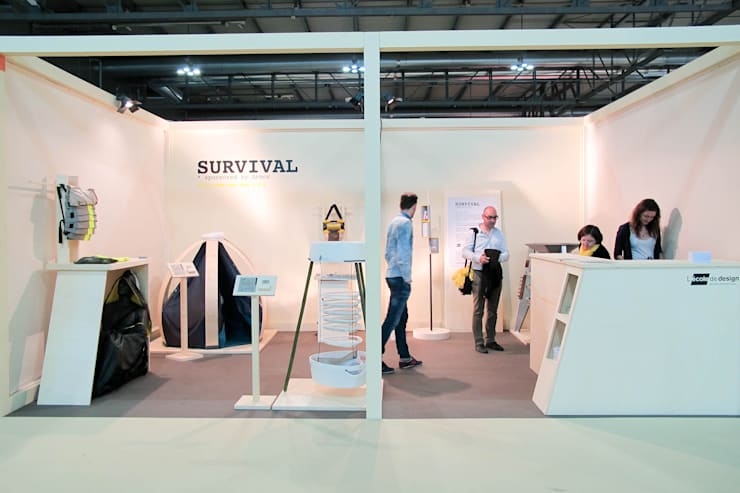 PuppaLuz au Salon du meuble de Milan 2014:  de style  par Marine Le Razavet