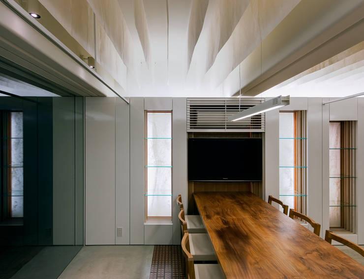 レッスンも可能なミーティングスペース: UZUが手掛けたオフィススペース&店です。