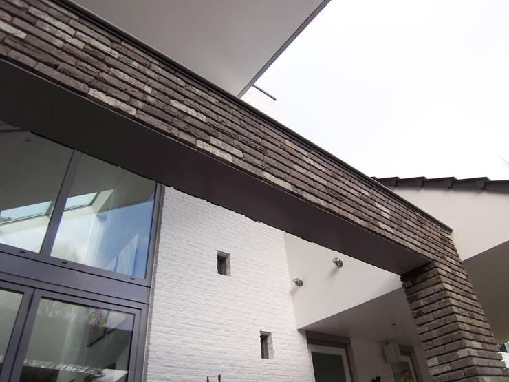 detail nieuwe achtergevel:   door EIKplan architecten BNA
