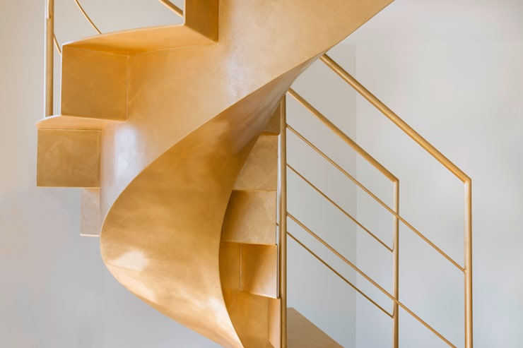 Eclectic style corridor, hallway & stairs by MABELE by MA-Bo srl Eclectic