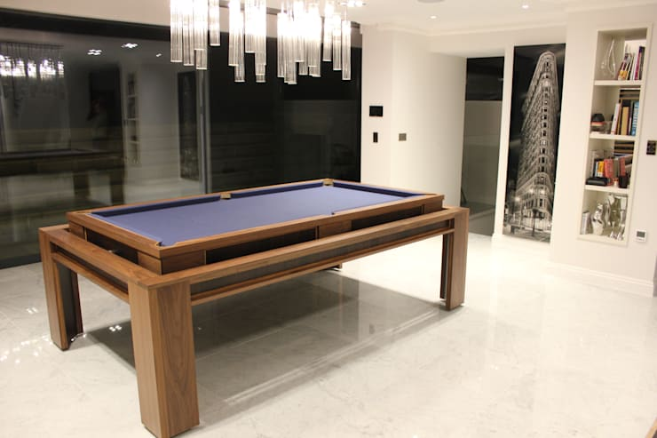 'The Lingfield'  Pool/Dining Rollover Table :  Dining room by Designer Billiards