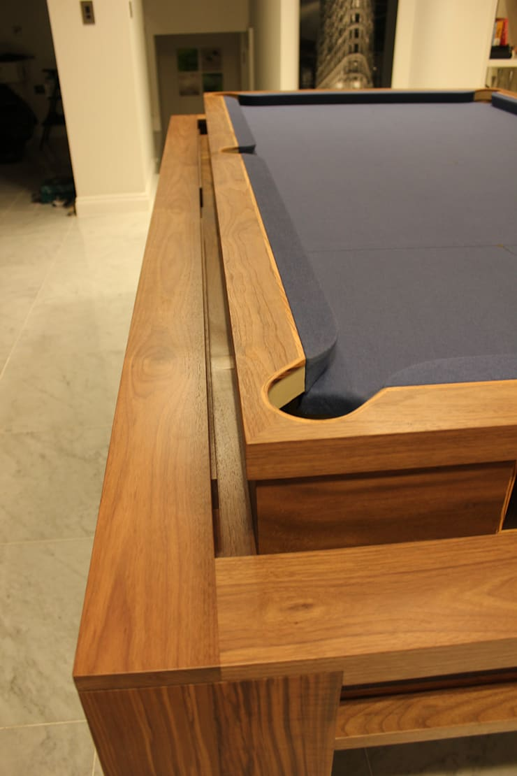 'The Lingfield'  Pool/Dining Rollover Table:  Dining room by Designer Billiards
