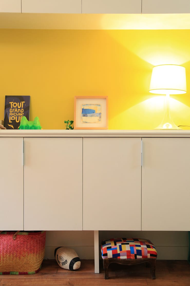 la chambre des enfants: Chambre d'enfant de style  par BuroBonus