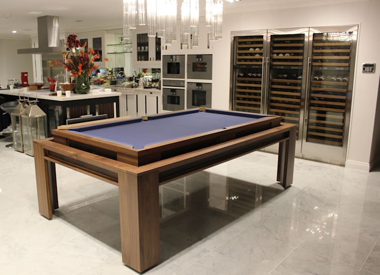 'The Lingfield'  Pool/Dining Rollover Table :  Kitchen by Designer Billiards