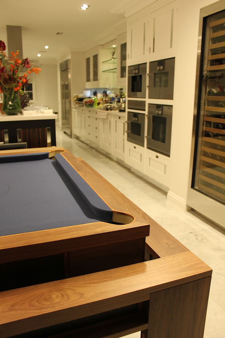 'The Lingfield'  Pool/Dining Rollover Table:  Kitchen by Designer Billiards