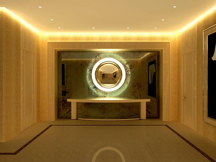 Inan AYDOGAN /IA  Interior Design Office – GOKCEN TEXTİLE:  tarz Ofis Alanları