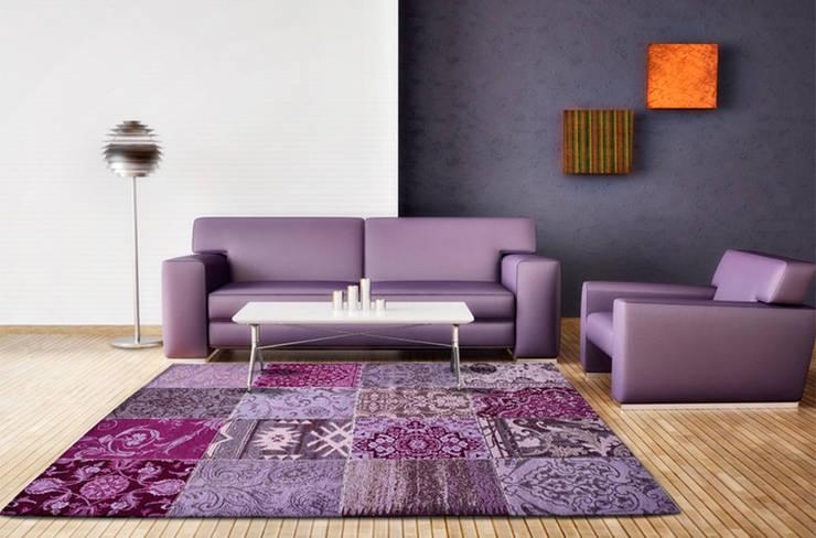 Salas/Recibidores de estilo moderno por Alfombras Pastor S.L.
