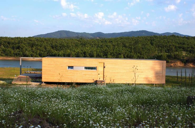 Boran Ekinci Mimarlık – Göl Evi:  tarz