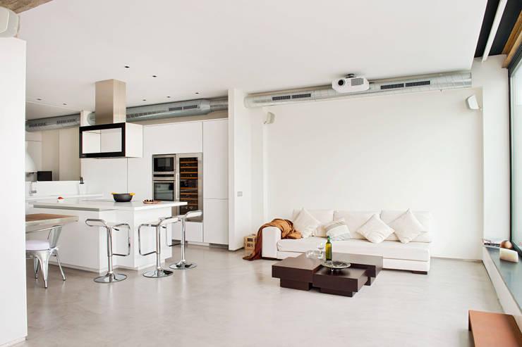 Projekty,  Salon zaprojektowane przez estudioitales