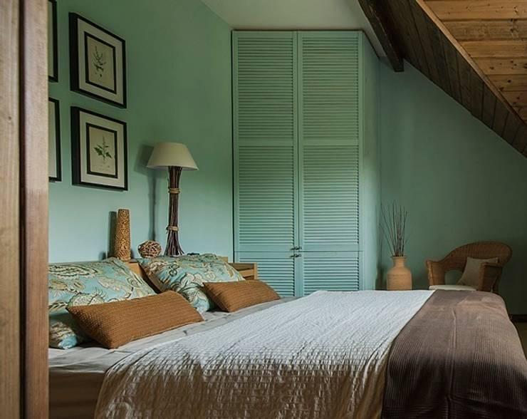 Загородный дом в скандинавском стиле: Спальни в . Автор – COUTURE INTERIORS