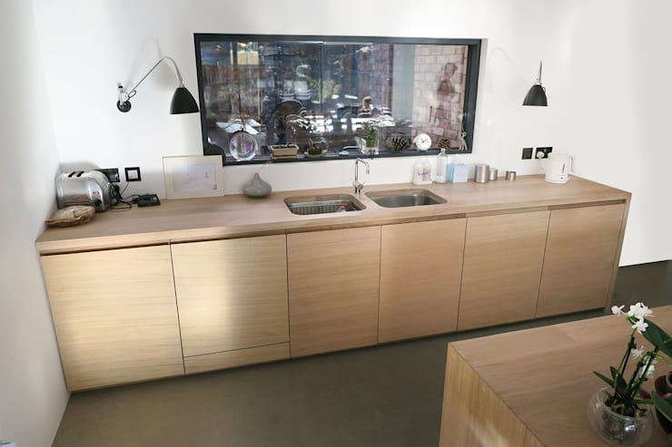 Contemporary Kitchen:  Kitchen by NAKED Kitchens