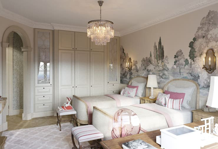 Dormitorios infantiles de estilo clásico por COUTURE INTERIORS