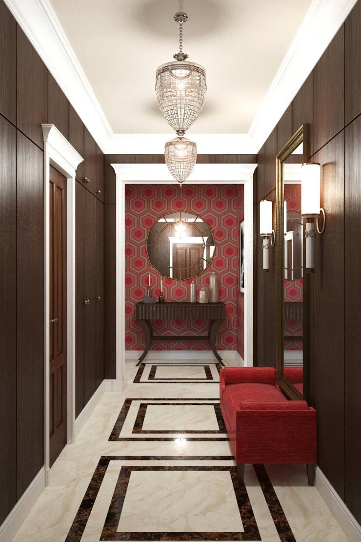 Квартира в стиле эклеткики: Коридор и прихожая в . Автор – COUTURE INTERIORS