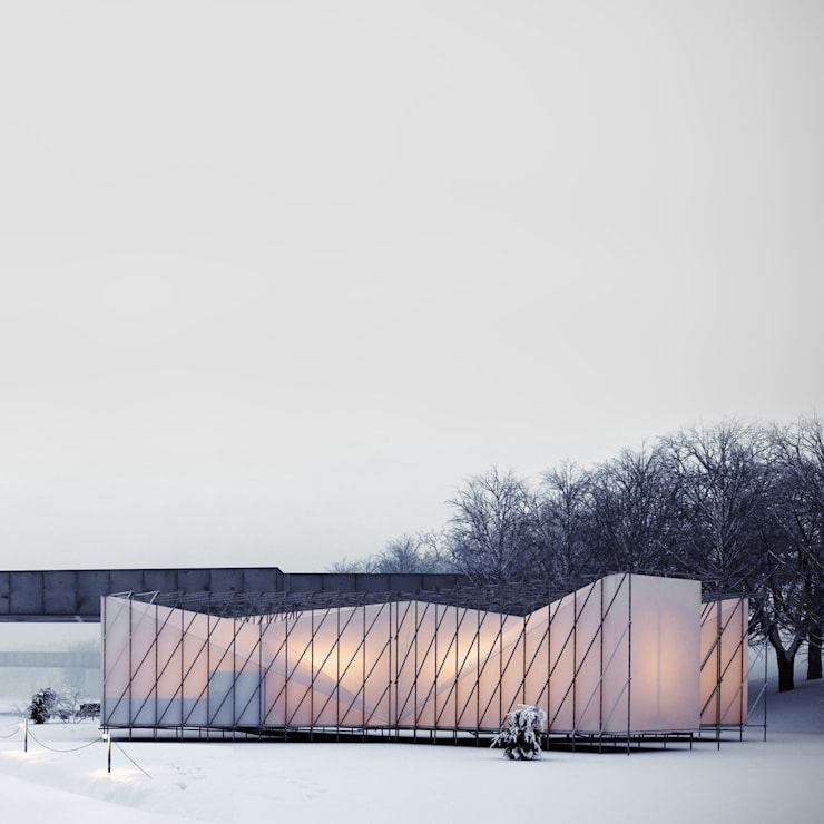 Restaurant on ice:  Gastronomy by OS31