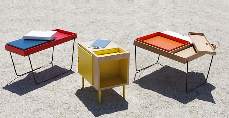 Chez D&C design: Salon de style  par Good Morning Design