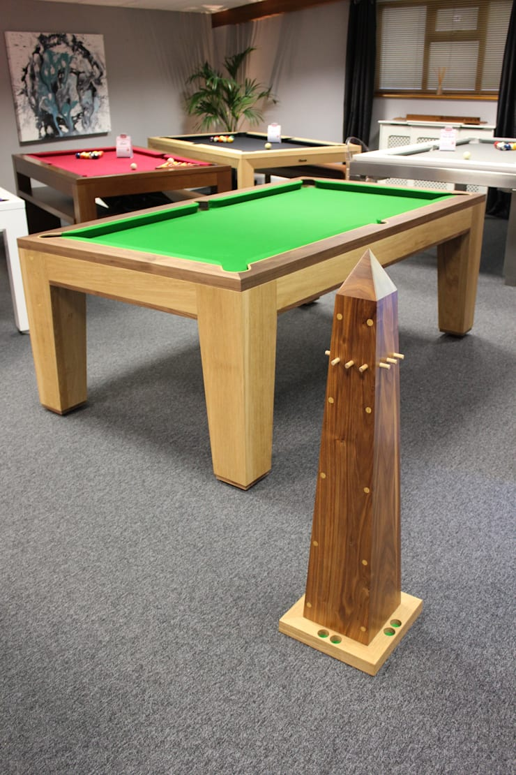 Spartan Pool/Dining Table:  Dining room by Designer Billiards