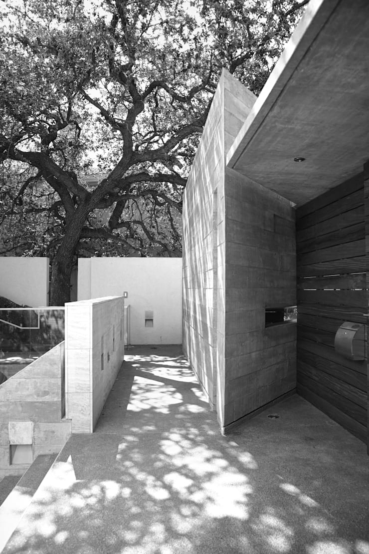 CASA SAN ÁNGEL: Casas de estilo  por Landa Suberville