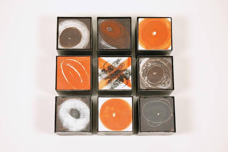[INSIDE - OUTSIDE] series   -   object I:  Kunst  door Marc Verbruggen - ceramic art