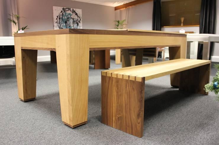 Spartan Pool/Dining Table:  Multimedia room by Designer Billiards