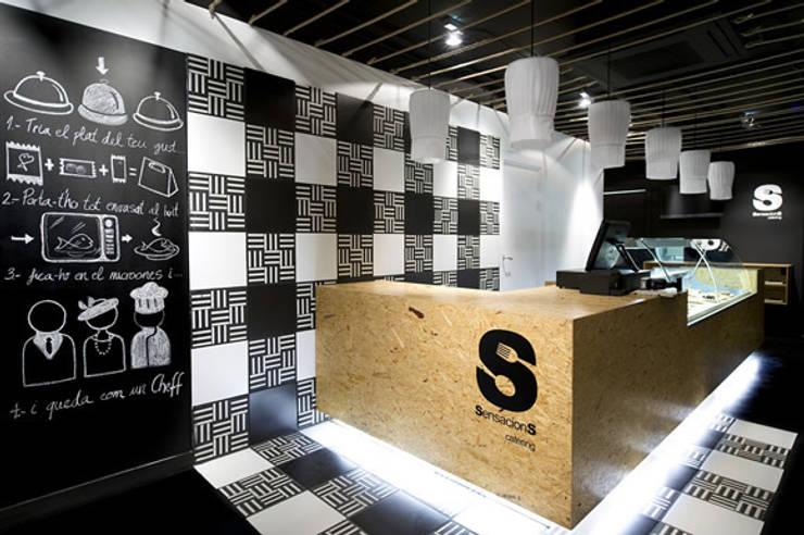 Restaurantes de estilo  por Egue y Seta, Moderno