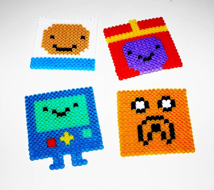 Pıneapple Inc. – Adventure Time Bardak Altlıkları:  tarz Ev İçi