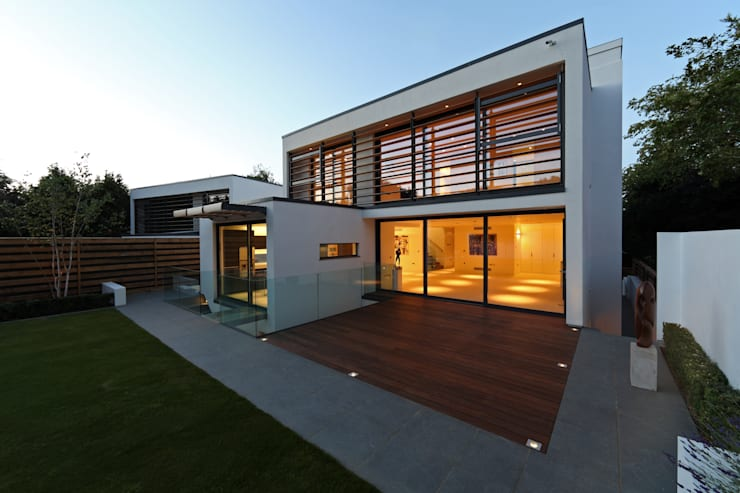 modern Houses by Nicolas Tye Architects
